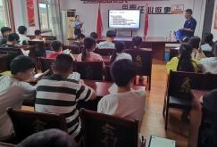 潘集区芦集镇妇联开展防溺水安全宣讲进校园活动