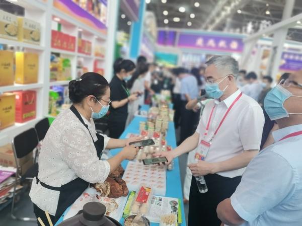 副市长邬平川与淮南女性创业致富带头人交流互动_爱奇艺